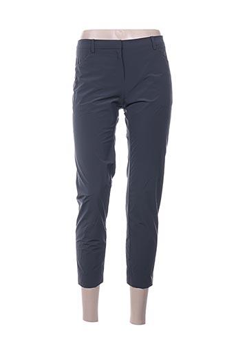 Pantalon casual gris ILARIA NISTRI pour femme