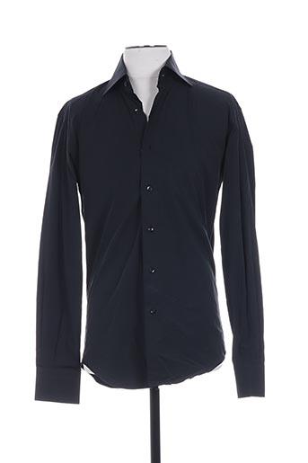 gianni ferrucci chemises homme de couleur noir