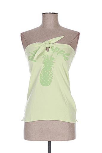 kulte chemises femme de couleur vert