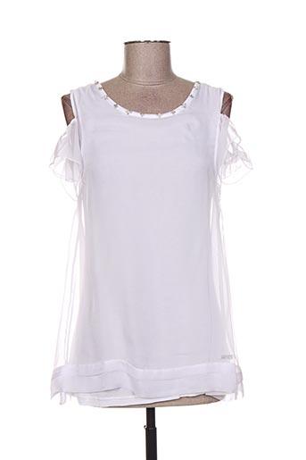 artigli robes fille de couleur blanc