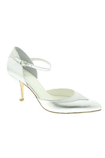 oui chaussures femme de couleur gris