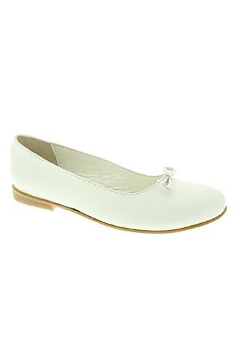 oui chaussures femme de couleur blanc