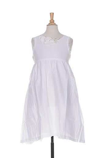 Robe mi-longue blanc VERTBAUDET pour fille