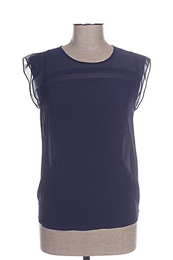 so essential chemises femme de couleur bleu