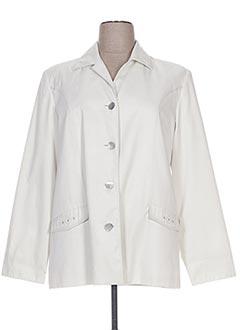 Veste casual blanc HAVREY pour femme