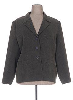 Veste casual vert FRANCOISE F pour femme