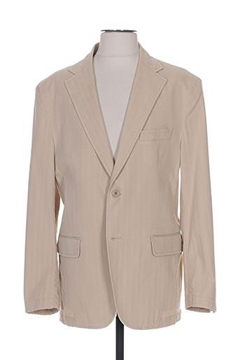 Veste chic / Blazer beige COBALT pour homme