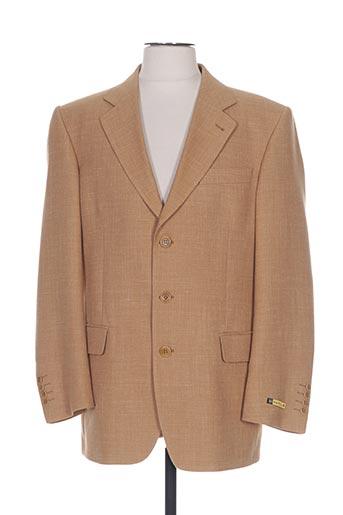 Veste chic / Blazer beige HAROLD pour homme