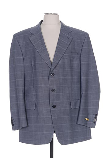 Veste chic / Blazer bleu HAROLD pour homme