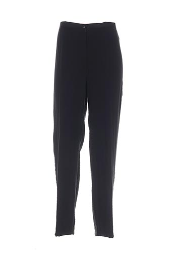 jean gabriel pantalons femme de couleur noir