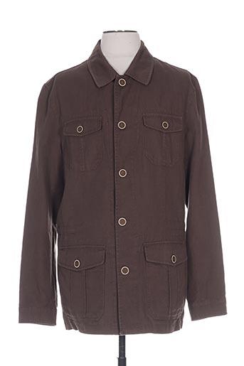 peter cofox vestes homme de couleur vert