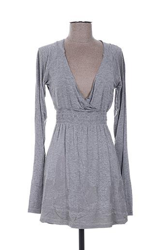 not the same robes femme de couleur gris