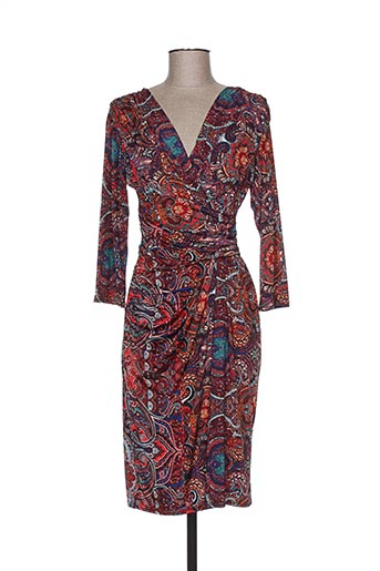 egerie robes femme de couleur rouge
