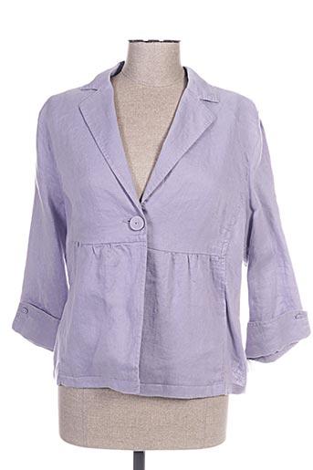 Veste casual violet JOCAVI pour femme