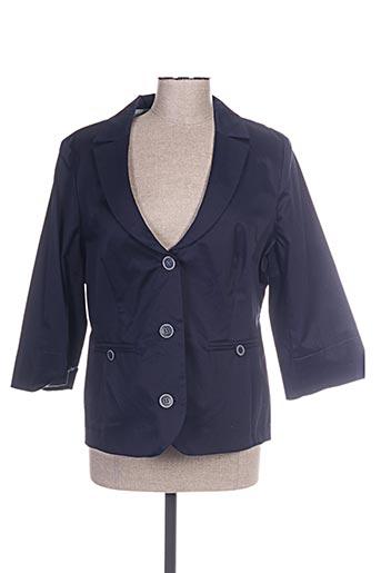 Veste chic / Blazer bleu CONCEPT K pour femme