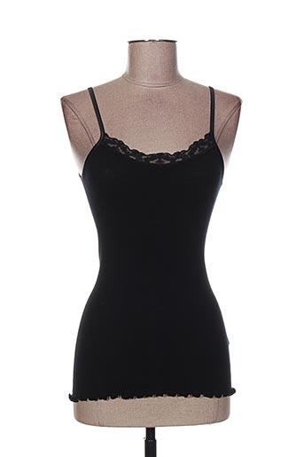 moretta lingerie femme de couleur noir