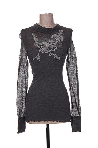 moretta chemises femme de couleur gris