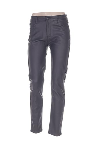 sarah john pantalons femme de couleur gris