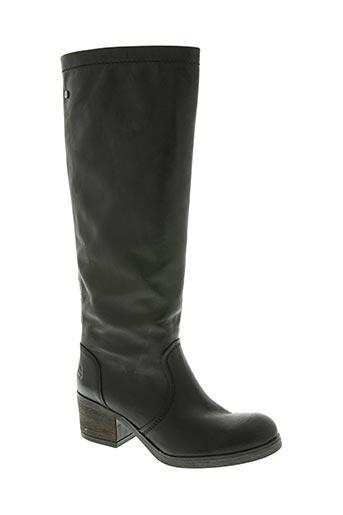 bullboxer chaussures femme de couleur noir