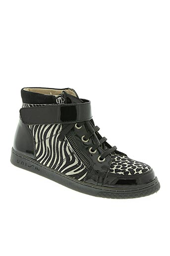 unisa chaussures fille de couleur noir