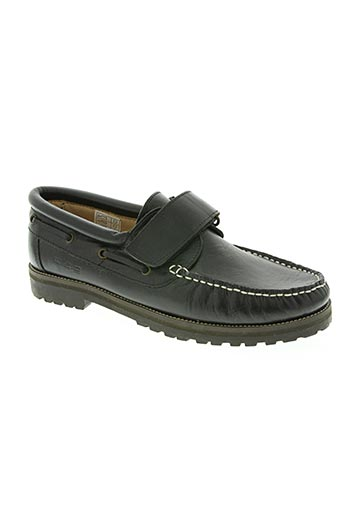 w.a.g boys chaussures homme de couleur noir