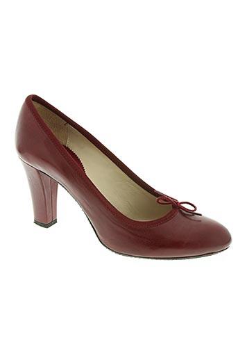 reve d'un jour chaussures femme de couleur rouge