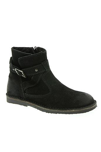 chocolate chaussures garçon de couleur noir