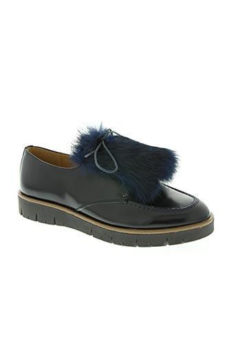 beberlis chaussures femme de couleur bleu