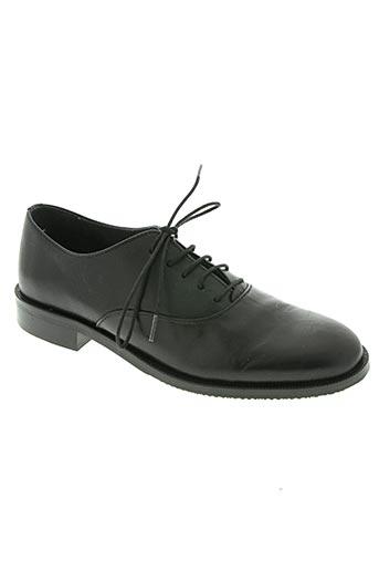 ubik chaussures femme de couleur noir