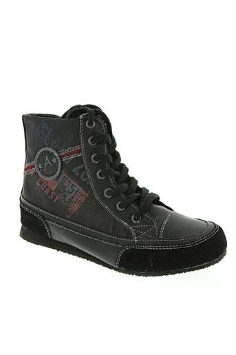 almarino chaussures fille de couleur noir