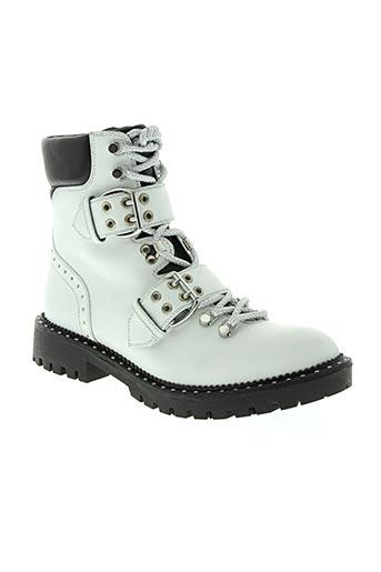 bruno premi chaussures femme de couleur blanc