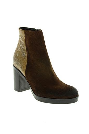 strategia chaussures femme de couleur marron