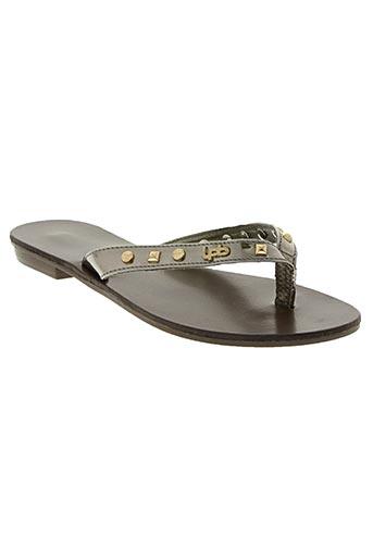 les p'tites bombes chaussures femme de couleur gris