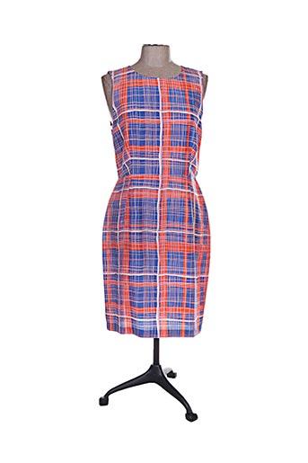 Robe mi-longue orange TARA JARMON pour femme
