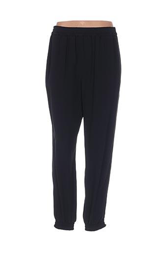 Pantalon casual noir TARA JARMON pour femme