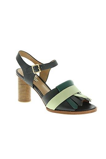 paul smith chaussures femme de couleur bleu