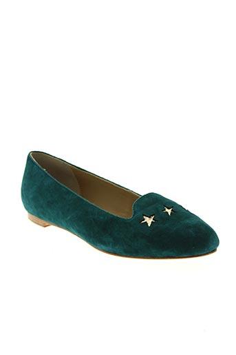c.petula chaussures femme de couleur vert