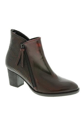 gabor chaussures femme de couleur rouge