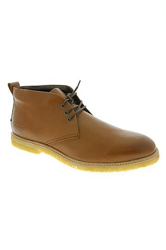 pratik chaussures homme de couleur marron