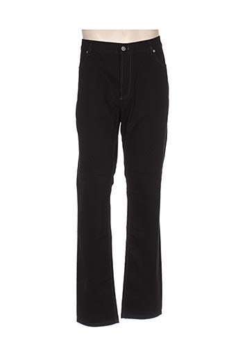 bruno saint hilaire pantalons homme de couleur noir