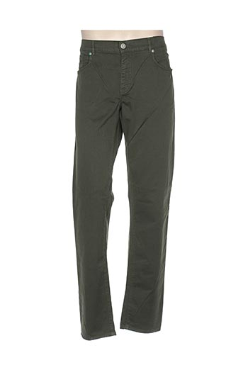 trussardi jeans pantalons homme de couleur vert