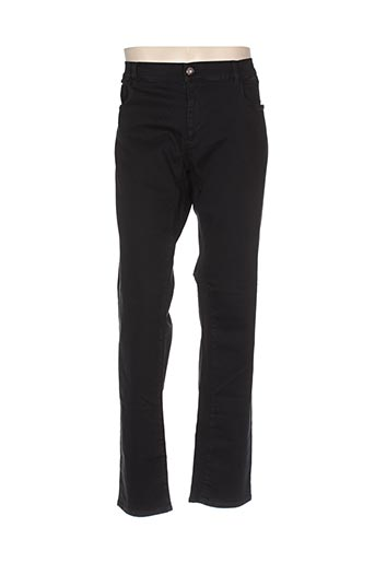 trussardi jeans pantalons homme de couleur noir