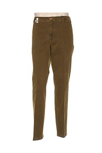 mmx pantalons homme de couleur marron