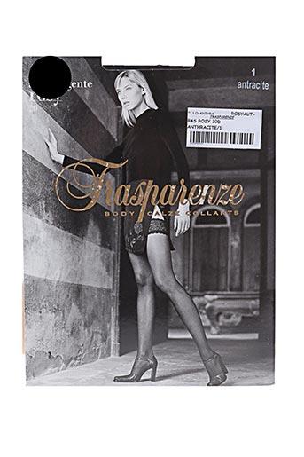 trasparenze lingerie femme de couleur gris