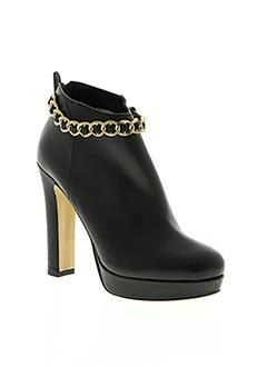 Bottines/Boots noir GAIA D'ESTE pour femme
