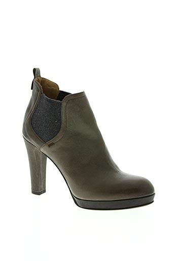 alberto fermani chaussures femme de couleur beige