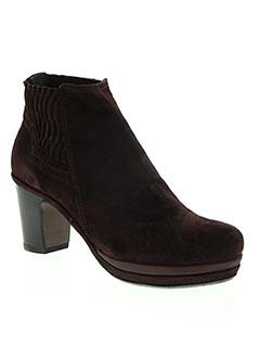 Bottines/Boots violet HOMERS pour femme