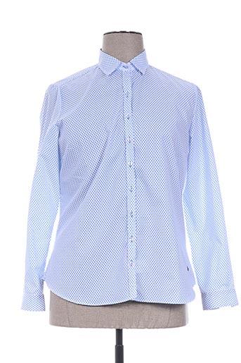 guapa collection chemises femme de couleur bleu