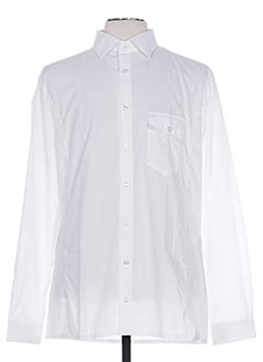 Chemise manches longues blanc FAIRPLAY pour homme