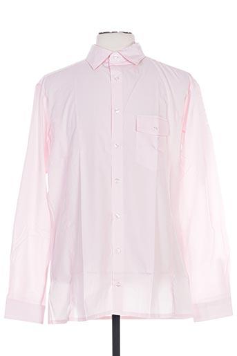 fairplay chemises homme de couleur rose